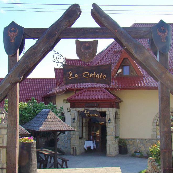 Pensiunea La Cetate din Targu Neamt