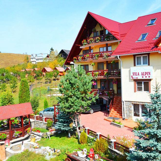 Pensiunea Alpinul din Durau