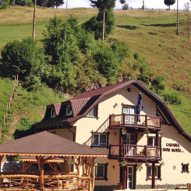Cabana Non Nobis din Valea Cheii